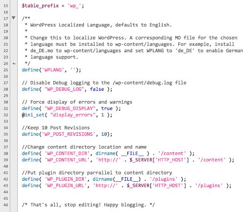 wp-config-screenshot