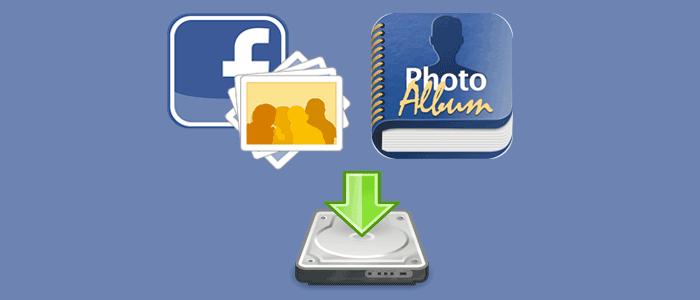 Cách tải toàn bộ hình ảnh trong Album Facebook